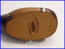 Big Sky Carvers S. S. Huntsman Wood Duck Decoy