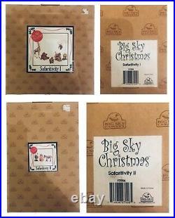Big Sky Carvers SAFARITIVITY Christmas Nativity set of 9 EUC
