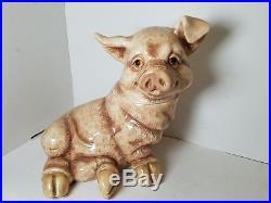 Big Sky Carvers Sig The Pig Cookie Jar Phyllis Driscoll