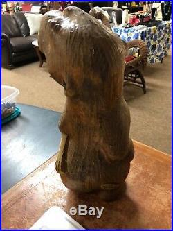 Big Sky Carvers Solid Wood Beaver Fish Jeff Fleming Man Cave 15
