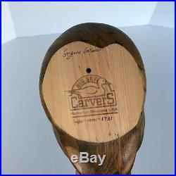 Big Sky Carvers Solid Wood Pheasant Decoy Signed & Stamped