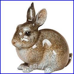 Big Sky Carvers Stonecast Rabbit at Rest Sculpture, New