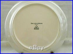 Big Sky Carvers Stoneware Brushwerks Moose 4 Dinner Plates 10 3/4 Unused w1s7