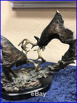 Big Sky Carvers Thunderstruck Hand Cast Sculpture By Marc Pierce