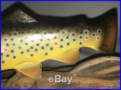 Big Sky Carvers Trout Fish Sculpture
