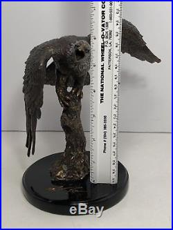 Big Sky Carvers Wanbli Eagle Sculpture Marc Pierce Signature Collection 2010