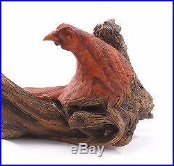 Big Sky Carvers Whispering Pheasant Sculpture by Ken White