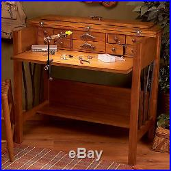Big Sky Carvers Willow Run Trout Fly Tying Desk Trout Fishing Desk