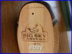 Big Sky Carvers Wood Duck Decoy