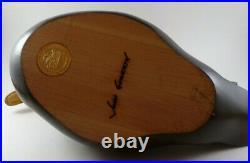 Big Sky Carvers Wood Duck Decoy Masters Edition Signed John Gewerth 178/1250
