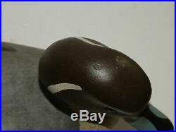 Big Sky Carvers Wood Duck Decoy, Pintail, Hand Carved Signed M Michaels 21