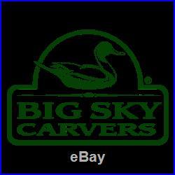 Big Sky Carvers Wood Duck New 30101600 Rare Decoy Mallard Pine Cute Bird USA