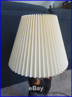 Big Sky Carvers Wooden Bear Table Lamp Vintage! Jeff Fleming