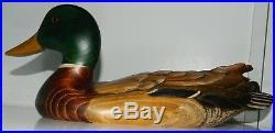 Big Sky Carvers. Wooden Mallard Duck