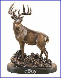 Big Sky Carvers marc Pierce One Chance Deer Sculpture