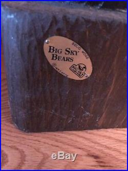 Big sky carvers bear wood