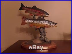 Big sky carvers trout Current Endeavors by Bill Reel 91/1250