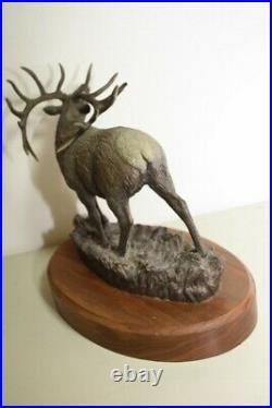 Bradford Williams Bronze Sculputre September Serenade 248/450 Big Sky Carvers