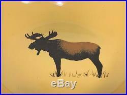 Brushwerks Big Sky Carvers Moose Design Mixed Lot of 18 Pieces Set