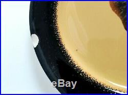 Brushwerks Stoneware Big Sky Carvers Big and Small Plates Nice Collection