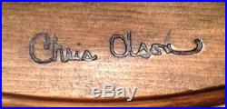 CHRIS OLSON Carving PHEASANT Big Sky Carvers Masters Edition 111/1250 EC