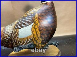 Chris Olson Wood Decoy Pheasant Master's Edition Woodcarvers Big Sky Carvers 450