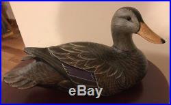 Don Profota Black Duck Decoy Big Sky Carvers Masters' Edition Woodcarving 1132