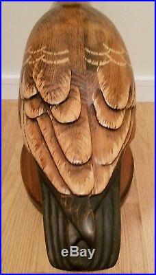 Don Profota Decoy LIFESIZE Wooden Canadian Goose Sculpture Big Sky Carvers