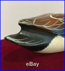 Ducks Unlimited 1997 Carved Wood Mallard Big Sky Carvers Signed Special Edition