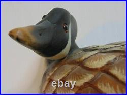 Ducks Unlimited Canada Goose Vintage Carving Big Sky Carvers Composite 22