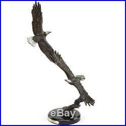 Eagle Sculpture Aerial Ballet Big Sky Carvers BIG SALE FREE Shipping