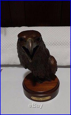 Eagle Sculpture Bradford Williams Big Sky Carvers Signed Limited Edition Bird