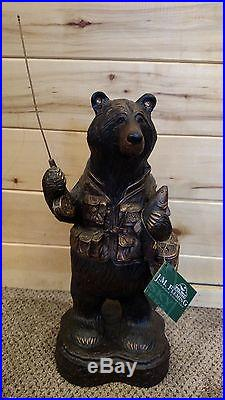 Fisherbear Big Sky Carvers Jeff Fleming Sculpture