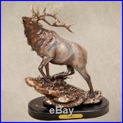 Herd Bull Sculpture By Big Sky Carvers B5030048 NIB