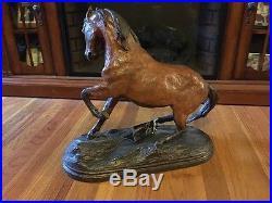 Huge Big Sky Carvers Horse Statue Sculpture Storm Dancer Dick Idol Collection