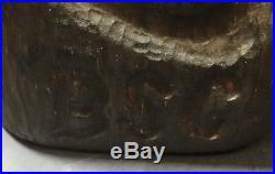 Jeff Fleming Big Sky Carvers BSC Jeffery Wood Carved Bear 15.5 x 7.25 x 7.25