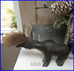 Jeff Fleming Big Sky Carvers Morton the Moose Retired Collectable