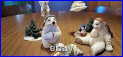 Jeff Fleming, Big Sky Carvers bear-tivity 15 figurines