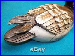 LARGE Big Sky Carvers Canada Goose Turned Head Decoy 2003 1/22 SIGNED