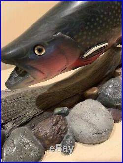 LOST AND FOUND Big Sky Carvers The Masters Editions #774/1250 Brook Trout