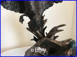 Landing Gear Down Marc Pierce Signature Sculpture Collection Big Sky Carvers