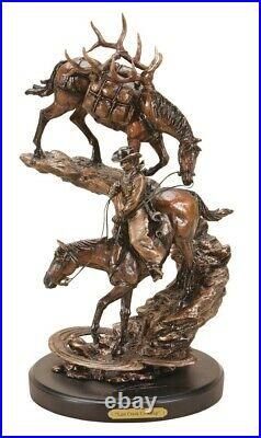 Last Creek Crossing Sculpture by Marc Pierce