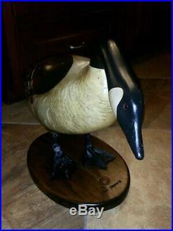 Life-size wooden goose don profota Ducks Unlimited, Big Sky Carvers