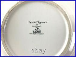 Lot 4 Equine elegance Carol Grende salad / dessert plates big sky carvers 8