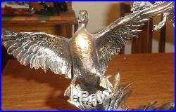 Marc Pierce Bronze Sculpture Piling In Big Sky Carvers Ducks Not Displayed MIB