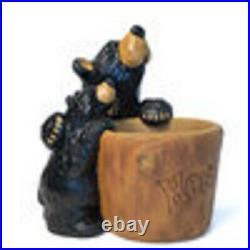 New In Box Big Sky Carvers Bearfoots Grand Honey Bear Jeff Fleming SALE $110
