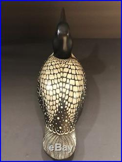 Orvis Big Sky Carvers Exclusive Edition Wooden Loon Duck Decoy Craig Fellows