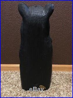 Pre-OwnedBig Sky Carvers Wooden Carved BearMama/Baby/MotherWood