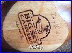 RARELifesize 2002 Big Sky Carvers Ringneck Pheasant Signed By Artist. 9/10