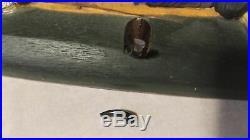 Rare Big Sky Carvers Jeff Fleming Bearfoots Green Canoe Fishing Bears Wall Hook